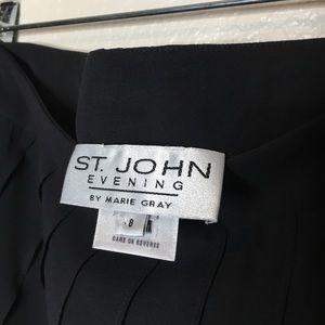 St. John Skirts - ST JOHN evening silk skirt